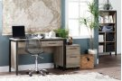 2-Drawer Mobile File Cabinet - Weathered Oak Product Image