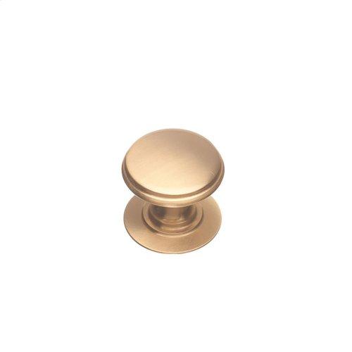 """1 1/4"""" Knob - Satin Bronze"""