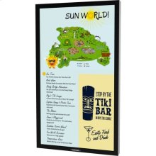 """55"""" Marquee Series Outdoor Digital Signage Full Sun Ultra Bright High Bright Outdoor Display - Portrait Orientation DS-5525P"""