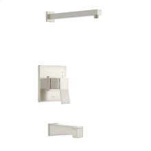Brushed Nickel COMING SUMMER 2019 - Avian Tub & Shower Trim Kit, without Showerhead