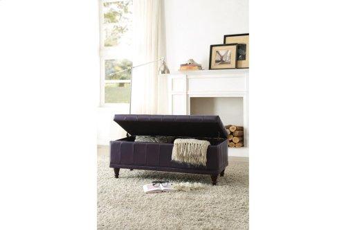 Lift-Top Storage Bench, Purple
