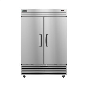 HoshizakiEF2A-FS, Freezer, Two Section Upright, Full Stainless Doors with Lock