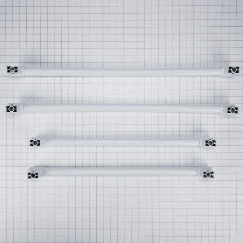 Handle Kit - White, Four Door Contour