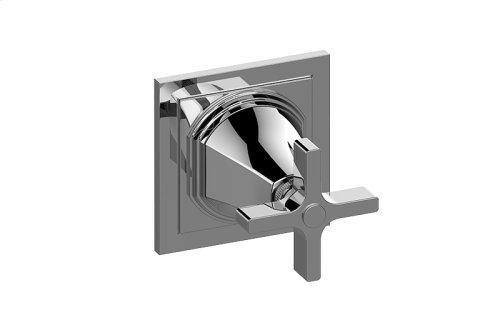 Finezza UNO Two-Way Diverter Valve Trim Plate and Handle