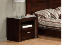 Contempo 1 Drawer Nightstand Product Image