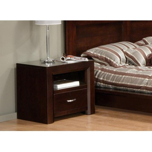 Contempo 1 Drawer Nightstand w/Power Management