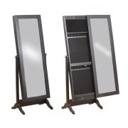 Black Sliding Jewelry Armoire Product Image