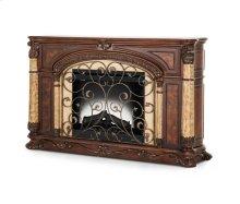 Victoria Palace Fireplace w/Insert Light Espresso