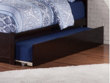 Urban Trundle Bed Twin/Full in Espresso