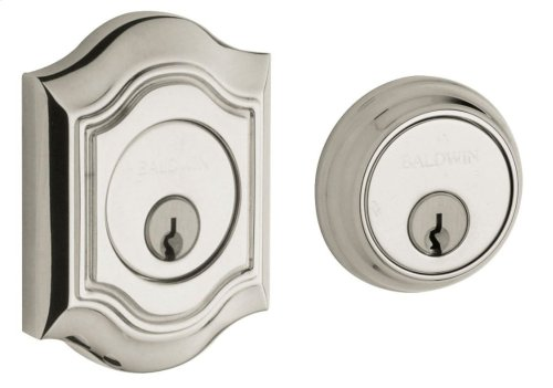 Polished Nickel with Lifetime Finish Bethpage Deadbolt