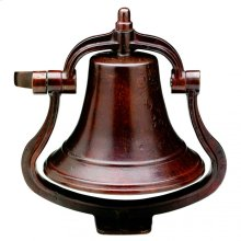 Large Bell - B12 Silicon Bronze Dark