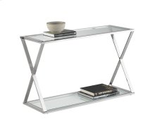Gotham Console Table - Stainless Steel