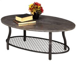 Bluestone Oval Cocktail Table