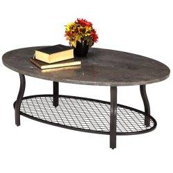 Bluestone Oval Cocktail Table