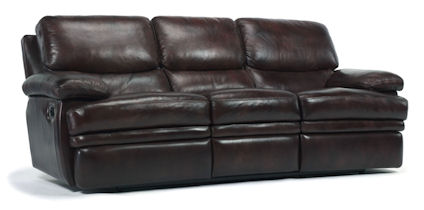 Dylan Leather Double Reclining Sofa
