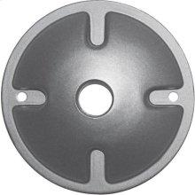 1-Light Mounting Plate - Light Gray Finish