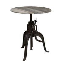 Stone Top Bar Table - Top