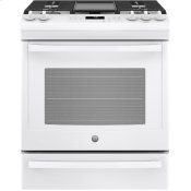 "®30"" Slide-In Front-Control Convection Gas Range"