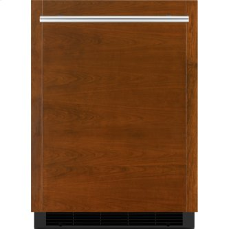 "Panel-Ready 24"" Under Counter Solid Door Refrigerator, Left Swing, Stainless Steel"