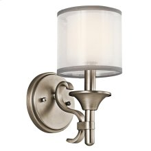 Lacey Collection Lacey 1 Light Wall Sconce - Antique Pewter
