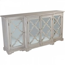 Lowery Distressed White Buffet