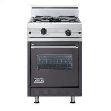 "Graphite Gray 24"" Wok/Cooker Companion Range - VGIC (24"" wide range with wok/cooker, single oven)"