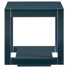 Panavista Floating Parsons End Table in Oceanic
