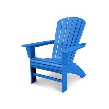 Pacific Blue Nautical Curveback Adirondack Chair