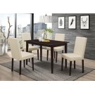Clayton Cappuccino Rectangular Dining Table Product Image