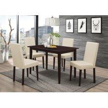 Clayton Cappuccino Rectangular Dining Table