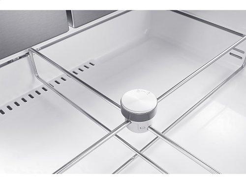 28 cu. ft. 4-Door French Door Refrigerator with FlexZone Drawer in Stainless Steel