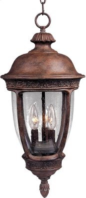 Knob Hill Cast 3-Light Outdoor Hanging Lantern
