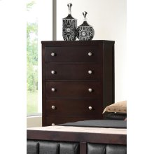Carlton Cappuccino Five-drawer Chest