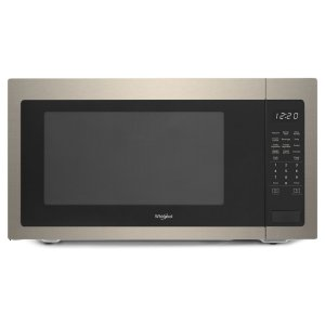 2.2 cu. ft. Countertop Microwave with 1,200-Watt Cooking Power - FINGERPRINT RESISTANT SUNSET BRONZE