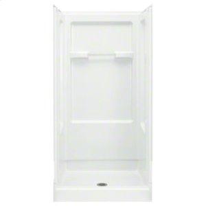 "Advantage™ 36, Series 6202, 36"" x 34"" x 72"" Shower - White Product Image"