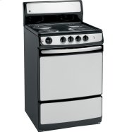 "GE® 24"" Standard Clean Free-Standing Electric Range Product Image"