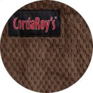 Cover for Pillow Pod or Footstool - Chenille - Espresso Product Image