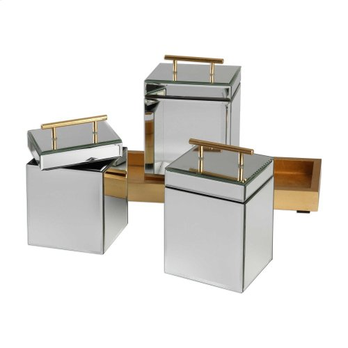 Faustina Boxes and Tray, S/4