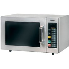 1000 Watt Commercial Microwave Oven with Stainless Cabinet and Cavity NE-1064F