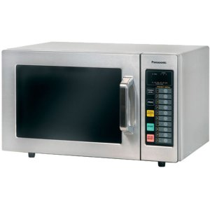 Panasonic1000 Watt Commercial Microwave Oven with Stainless Cabinet and Cavity NE-1064F