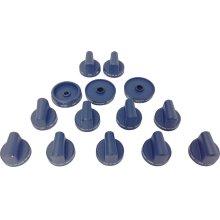 Blue Knob Set PAKNOBLURG
