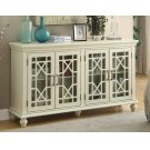 Traditional Antique White Accent Cabinet Product Image