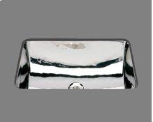 B1218 - Rectangle Lavatory - Plain Pattern - Antique Brass