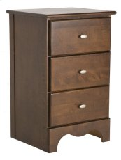 Dover 3 Drawer Night Stand