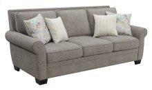 Sofa W/4 Accent Pillows-brown #sequoia Bark