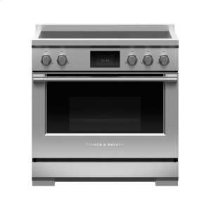 "Fisher & PaykelInduction Range, 36"", 5 Zones"