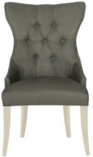 Deco Tufted Back Chair in Chalk Product Image
