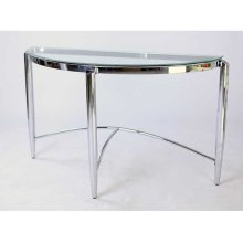 CONSOLE TABLE CHROME
