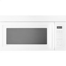"Over-the-Range Microwave Oven with Convection, 30"", Floating Glass White"