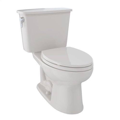 Eco Drake® Transitional Two-Piece Toilet, 1.28 GPF, Elongated Bowl - Sedona Beige